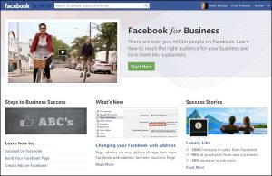 Social Media Managers Sydney Australia - Facebook Business Page