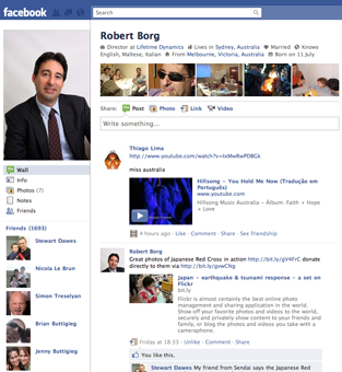 Facebook Fan Page - Social Media Manager
